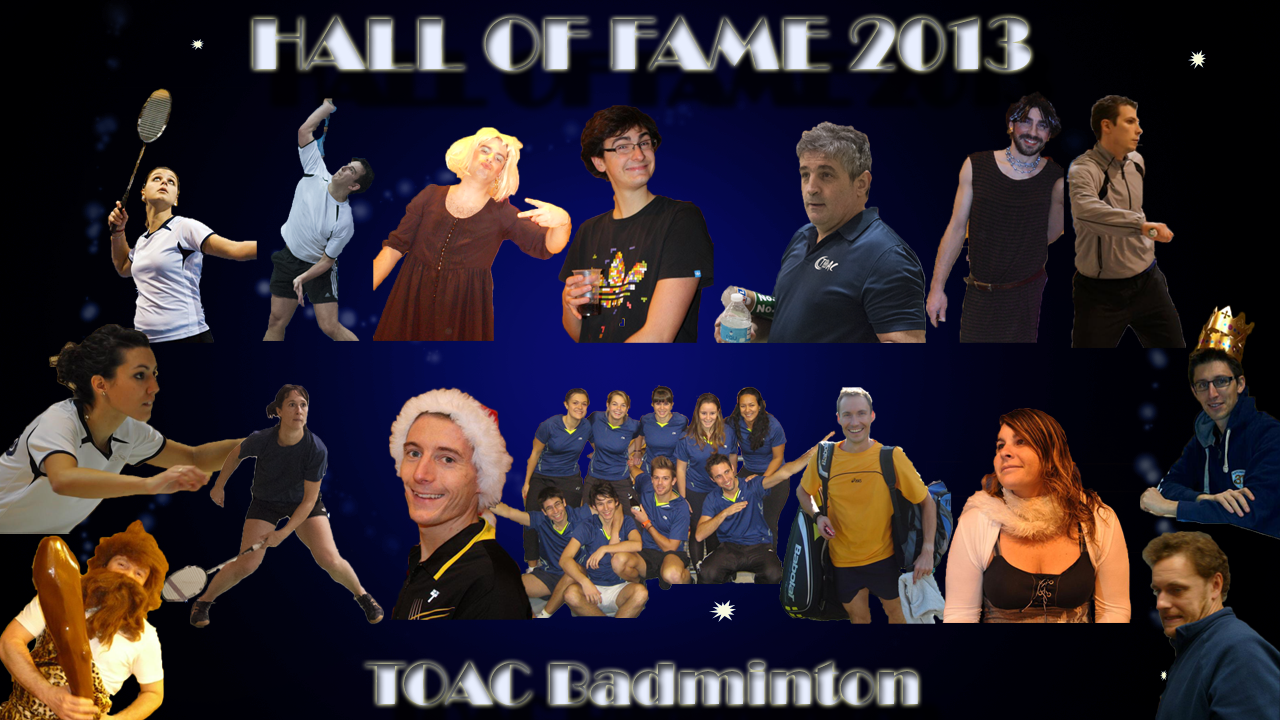 hall of fame TOAC Awards 2013